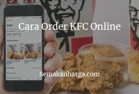 Cara Order KFC Online