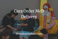 Cara Order McD Delivery