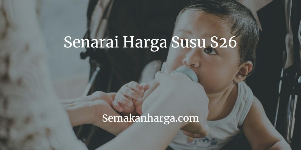 Promosi Harga Susu S26