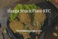 Snack Plate KFC Malaysia