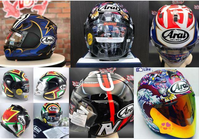 Harga Helmet Arai Malaysia