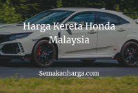 Harga Kereta Honda