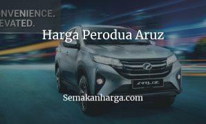 Harga Perodua Aruz