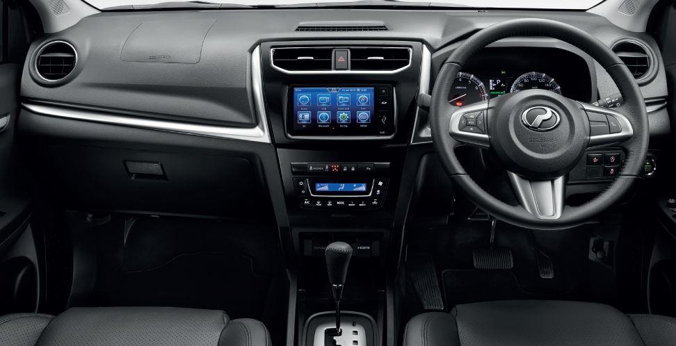 Interior Perodua Aruz
